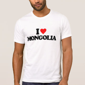 I LOVE MONGOLIA T-Shirt