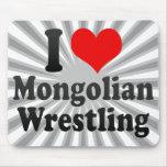 I love Mongolian Wrestling Mousepads