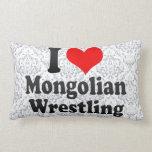 I love Mongolian Wrestling Pillow
