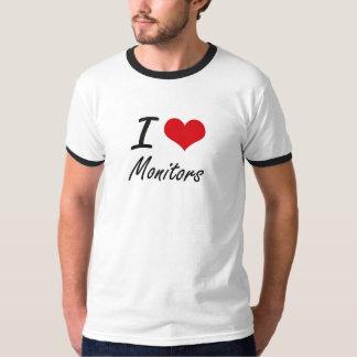 I Love Monitors Tshirts
