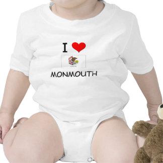 I Love MONMOUTH Illinois Shirts