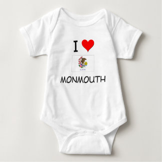 I Love MONMOUTH Illinois Tee Shirt