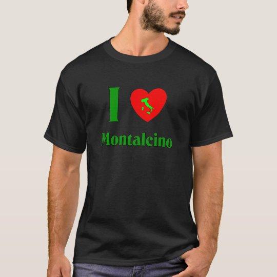 I Love Montalcino Italy T-Shirt