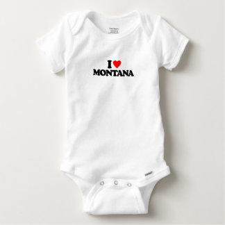 I LOVE MONTANA BABY ONESIE
