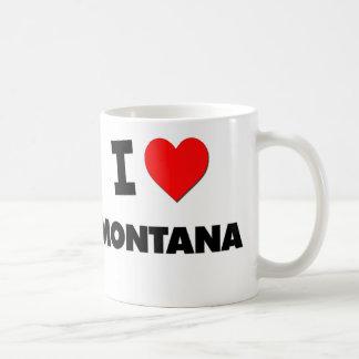I Love Montana Basic White Mug