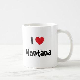 I Love Montana Coffee Mug