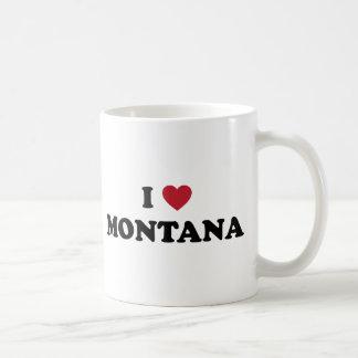 I Love Montana Coffee Mugs