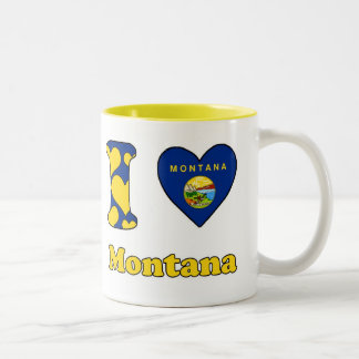 I love Montana Two-Tone Coffee Mug