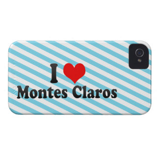 I Love Montes Claros, Brazil iPhone 4 Covers