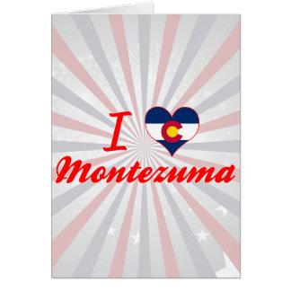 I Love Montezuma, Colorado Card