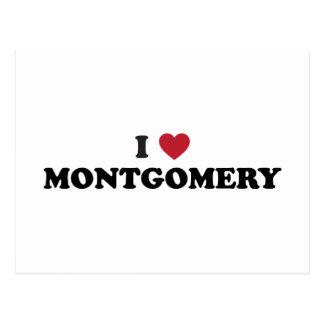 I Love Montgomery Alabama Postcard