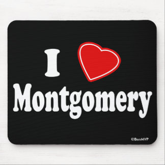 I Love Montgomery Mouse Pad