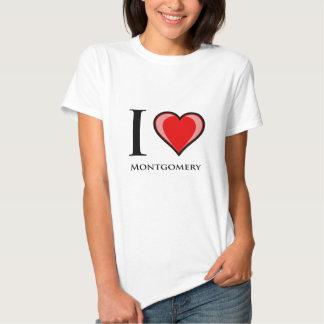 I Love Montgomery Tee Shirts
