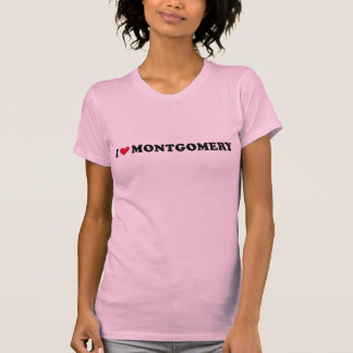 I LOVE MONTGOMERY T-SHIRTS