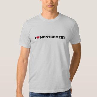 I LOVE MONTGOMERY TSHIRTS