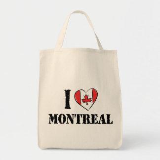 I Love Montreal Canada Tote Bag