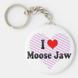 I Love Moose Jaw, Canada Key Ring