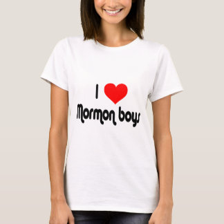 I Love Mormon Boys T-Shirt
