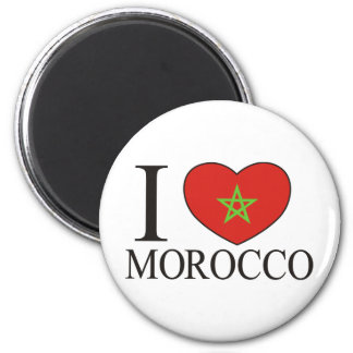 I Love Morocco Magnet