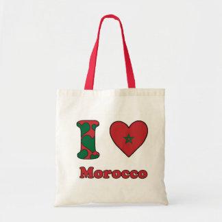 I love Morocco Budget Tote Bag