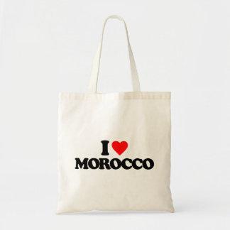 I LOVE MOROCCO TOTE BAG