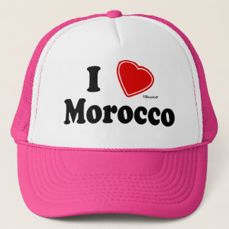 I Love Morocco Trucker Hat
