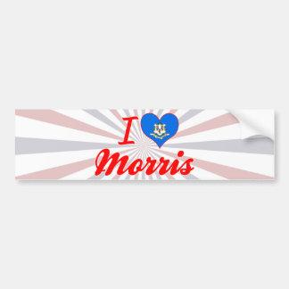I Love Morris, Connecticut Bumper Sticker