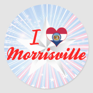I Love Morrisville Missouri Stickers