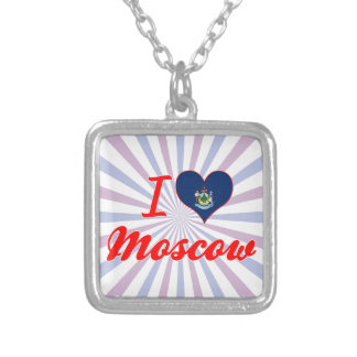 I Love Moscow Maine Necklaces
