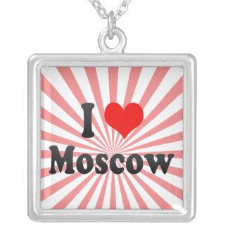 I Love Moscow Russia Custom Jewelry