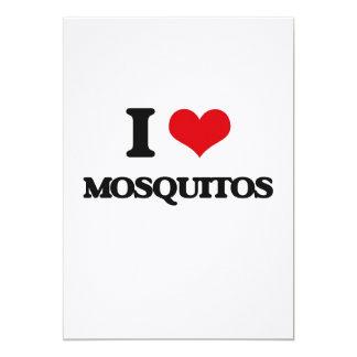 "I Love Mosquitos 5"" X 7"" Invitation Card"
