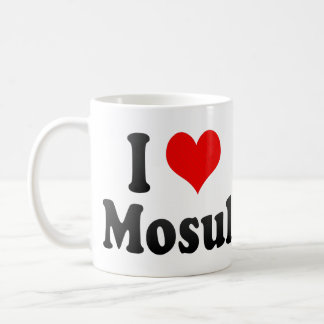 I Love Mosul, Iraq Coffee Mug