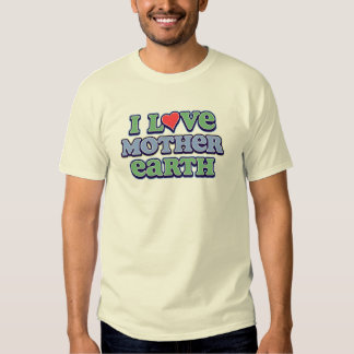 I Love Mother Earth Basic T-Shirt