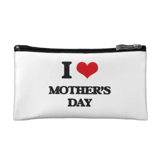 I Love Mother'S Day Cosmetics Bags