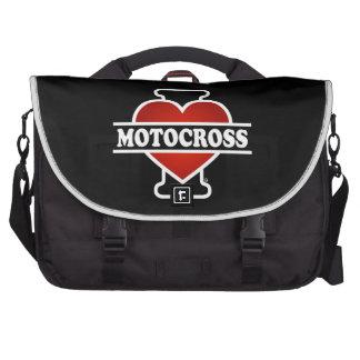 I Love Motocross Commuter Bags
