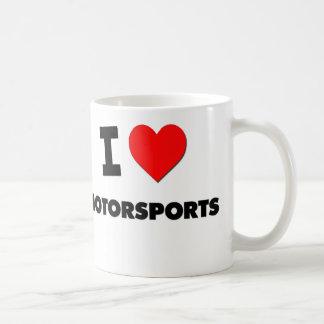 I Love Motorsports Coffee Mug