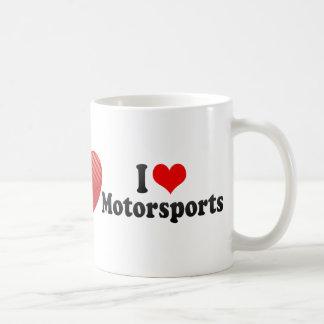 I Love Motorsports Mugs