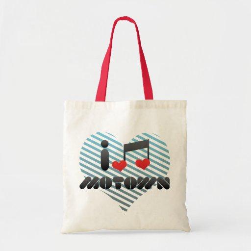 I Love Motown Canvas Bag