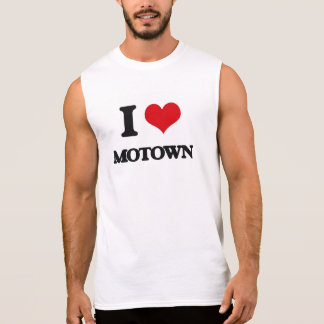 I Love MOTOWN Sleeveless Shirts