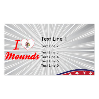 I Love Mounds Illinois Business Cards
