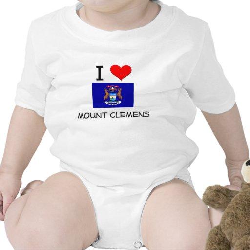 I Love Mount Clemens Michigan T-shirts