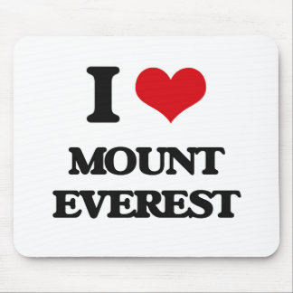 I love Mount Everest Mouse Pad