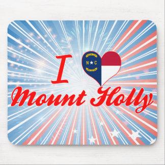 I Love Mount Holly North Carolina Mouse Pad