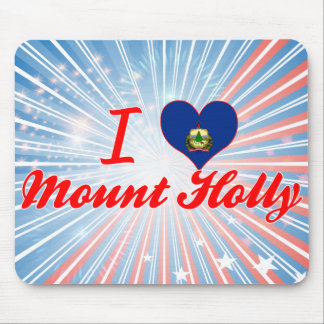 I Love Mount Holly Vermont Mouse Pad