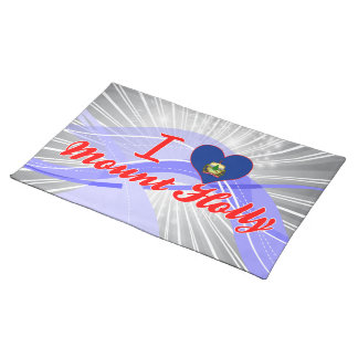 I Love Mount Holly, Vermont Placemats