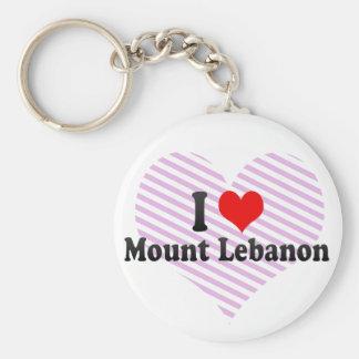 I Love Mount Lebanon, United States Key Ring