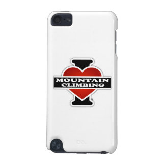 I Love Mountain Climbing iPod Touch 5G Cases