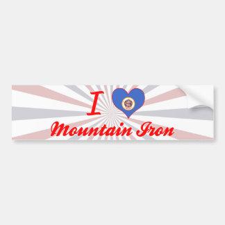 I Love Mountain Iron, Minnesota Bumper Stickers