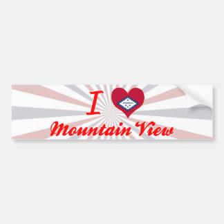 I Love Mountain View Arkansas Bumper Stickers