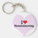 I love Mountaineering Keychains